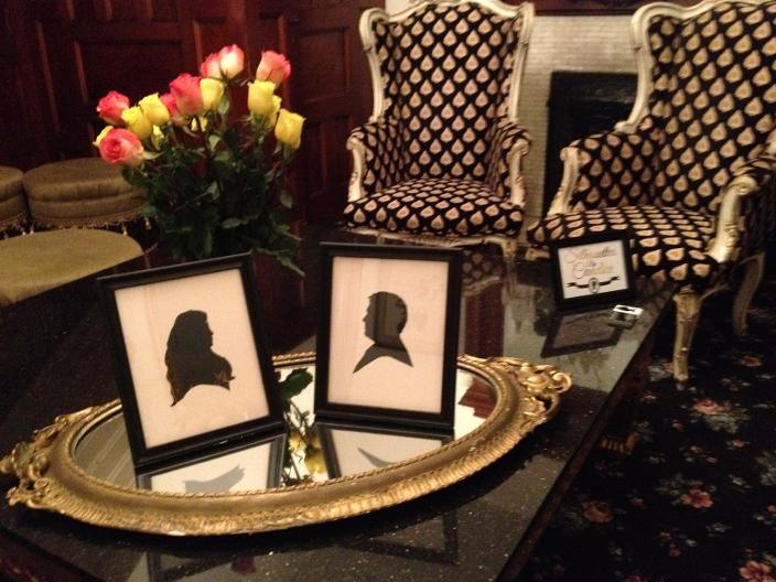 Wedding Silhouettes Display