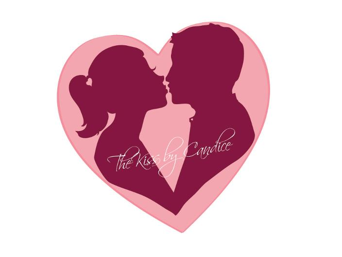 The Kiss Wedding Logo by Candice